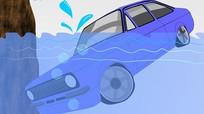 Làm sao thoát khỏi xe ôtô bị chìm xuống nước?