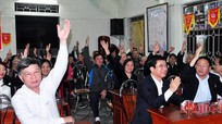 100% cử tri đồng tình giới thiệu Trưởng ban Tổ chức Tỉnh ủy ứng cử đại biểu HĐND tỉnh