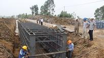 Đầu tư xây dựng kênh mương chống hạn ở Nghệ An