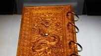 Chuyện ít biết về sách đúc bằng vàng của vương triều Nguyễn