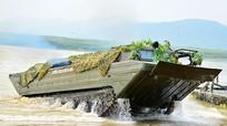 Đoàn công binh Hải Vân phô diễn sức mạnh vượt sông Lam