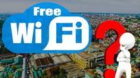 TP Vinh: Người dân nghĩ gì về việc phủ sóng wifi miễn phí?
