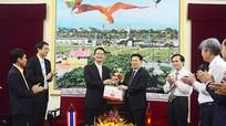 Tập đoàn Hemaraj Thái Lan chào xã giao lãnh đạo tỉnh Nghệ An