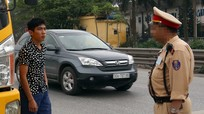 Nhiều cảnh sát giao thông bụng phệ ở Hà Nội sẽ làm cán bộ văn phòng