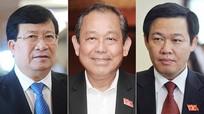 Quốc hội chính thức phê chuẩn 3 Phó thủ tướng Chính phủ, 18 bộ trưởng mới