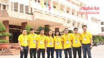 Đội tuyển Trường Đại học Vinh tham dự Olympic toán học trên đất Võ