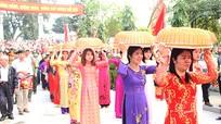 Lễ hội Đền Hát Môn đón Bằng Di sản văn hóa phi vật thể quốc gia