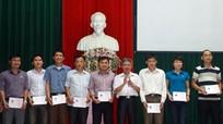 117 học viên được cấp chứng nhận Trung cấp Lý luận chính trị hành chính