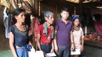 Kỳ Sơn hỗ trợ gia đình 3 nạn nhân vụ ngạt hầm vàng Quảng Nam