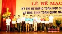 Bế mạc Kỳ thi Olympic Toán học toàn quốc 2016