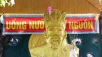 Nghệ An: Nghệ nhân quê lúa tạc tượng  Vua Hùng