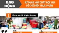 [inforgraphics] Liên tiếp phát hiện thực phẩm bẩn ở Nghệ An
