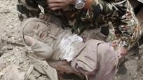 Bé trai Nepal sau một năm sống sót kỳ diệu trong động đất