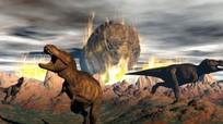 Khủng long đã tuyệt chủng từ trước khi thiên thạch rơi xuống