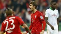 Muller lập cú đúp, Bayern vào chung kết Cup quốc gia