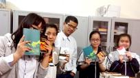 Học sinh trường Phan lan toả văn hoá đọc bằng Vinh's Books