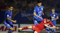 Bình Dương chia tay AFC Champions League sau trận thua trước đội bóng của Ramires