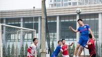 Trận chung kết 'trong mơ' Giải bóng đá cựu học sinh trường Phan