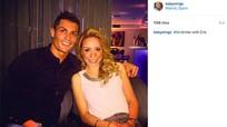 Bạn gái tin đồn của Ronaldo là CĐV Barca