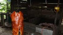 Hình ảnh kinh hoàng về lò thịt quay nổi tiếng nhất thành phố Vinh