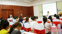 Tập huấn kỹ năng vận động tranh cử cho 5 ứng cử viên Nghệ An