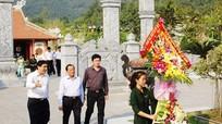 Đồng chí Lê Thanh Hải thăm các khu di tích lịch sử Nghệ An