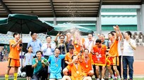 Bế mạc Giải bóng đá cựu học sinh trường THPT chuyên Phan Bội Châu