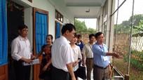 Bộ GD&ĐT kiểm tra phổ cập giáo dục mầm non cho trẻ 5 tuổi tại Thái Hòa