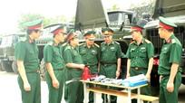 Nghiệm thu xe ô tô quân sự cải tiến năm 2015
