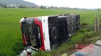 Hầu hết các nạn nhân trong vụ lật xe khách đã xuất viện