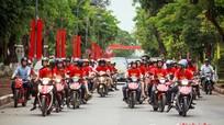 Choáng ngợp màn rước dâu bởi hàng trăm phượt thủ tại Nghệ An