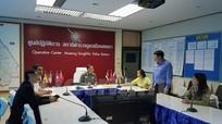 Hải quân Thái Lan họp báo về vụ bắt giữ 47 ngư dân Việt Nam