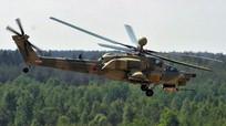 Rơi máy bay quân sự Mi-28N của Nga, phi công tử nạn