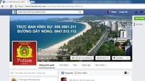 Cảnh sát hình sự lập Facebook tấn công tội phạm