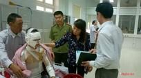 Thăm hỏi và hỗ trợ nạn nhân vụ nổ tại KCN Nam Cấm