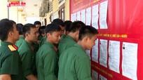LLVT Quân khu 4: Sẵn sàng cho ngày hội bầu cử của đất nước