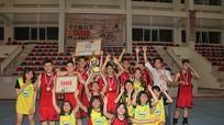 Trường THPT Nguyễn Trường Tộ vô địch giải bóng rổ TP Vinh lần II
