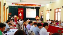 Hướng dẫn tiếp xúc cử tri vận động bầu cử ở Quỳ Hợp, Nghi Lộc
