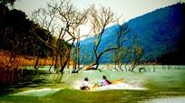 Những hình ảnh kỳ vĩ trên Nậm Nơn - Nậm Mộ ở miền Tây xứ Nghệ