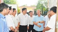 Đoàn công tác Trung ương kiểm tra chuẩn bị bầu cử tại Nghệ An