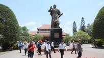 Khánh thành bia dẫn tích khu lưu niệm cụ Nguyễn Sinh Sắc