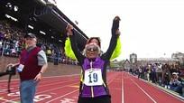 Cụ bà phá kỷ lục chạy 100m nữ thế giới dành cho nhóm cao tuổi