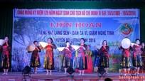Các địa phương tổ chức liên hoan tiếng hát Làng Sen