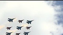Xem dàn máy bay quân sự Nga tổng duyệt trước Ngày Chiến thắng