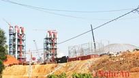 Đẩy nhanh tiến độ GPMB mở rộng nhà máy xi măng Sông Lam giai đoạn 2