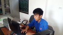 Nghệ An: Nam sinh miền núi viết phần mềm tương tác giữa người và máy tính
