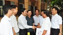 Ứng cử viên mong muốn cử tri Thanh Chương đồng hành và giám sát lời hứa