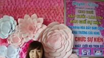 Cô chủ 9X đa tài nuôi đam mê với bánh ngọt, hoa giấy