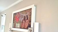 Giải pháp cho nhà đẹp: Biến tivi thành tranh tường