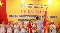 Hải quan Nghệ An đón nhận Huân chương Lao động Hạng Ba